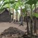 Hütte und Kind DR Kongo
