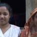 Minara mit ihrer Mutter, Bezirk Sunamganj