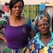Yolande mit Mutter Elisabeth, Zongo