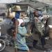 Straßenszene in Cotonou
