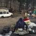 Frauen am Stadtrand Bukavus