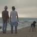 Bill und Tom in Malibu am Strand
