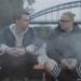 Gustav und Georg grillen